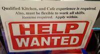 Kitchen / Counter attendant