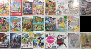 Wii Games ( Plays on Wii U as well )
