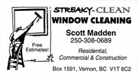 Window cleaning / snow removal / general labourer