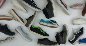 (50) VANS and KEDS Shoes for Kids from $12