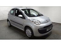 2008(08)CITROEN C1 RHYTHM 1.0 MET SILVER,£20 TAX,NEW MOT,CHEAP INSURANCE,GREAT VALUE