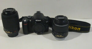SELLING Nikon D3400 DSLR Camera With 18-55mm And 70-300mm Lenses