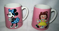TASSES MUSICALES-VERRE...1970's collections...MUSICAL MUGS-GLASS