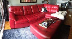 Sofa & Pouf