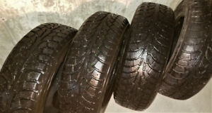 USED WINTER TIRES 225/65/R16