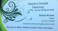 Sheila's Simple Cleaning
