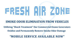 """""""Remove Smoke Odor From Vehicles"""""""