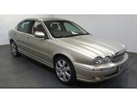 2005(55)JAGUAR X TYPE SE 2.0 DIESEL MET GOLD,VERY LOW MILES,2 OWNER,LEATHER,BIG SPEC,LOVELY CAR!