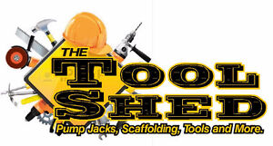 Pump Jacks, Scaffolding, ladders and more STOCKED LOCALLY
