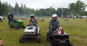 Racing lawnmower