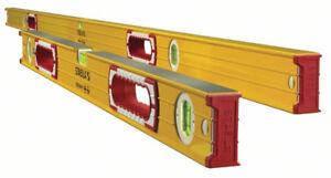 Stabila 37532 Aluminum Box Beam Level Set, 78-Inch + 32-Inch