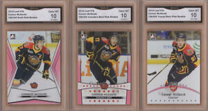 CARTE DE HOCKEY CARDS (3) 2014-15 C. MCDAVID - RC GMA 10 # /200