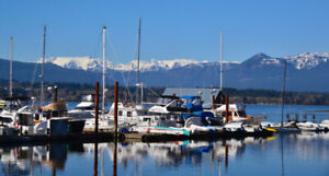 Spend an AMAZING summer in Downtown Comox, Vancouver Island, BC