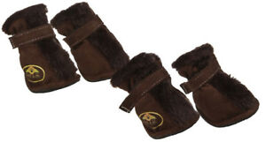 NEW Pet Life Insulated Paw Wear Fur-Comfort Pet Dog Boots, Small