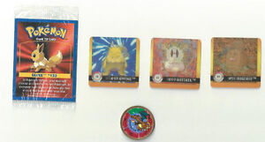 POKEMON GAME CARD SEALED ~ METAL SPINNER ~ 3-D CARDS