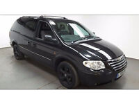 2005(05)CHRYSLER GRAND VOYAGER 2.8 CRDi AUTOMATIC BLACK,WHEELCHAIR ACCESS VEHICLE,LOW MILES