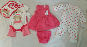 Brand New 3-Month Size Baby Clothes - $35 for all