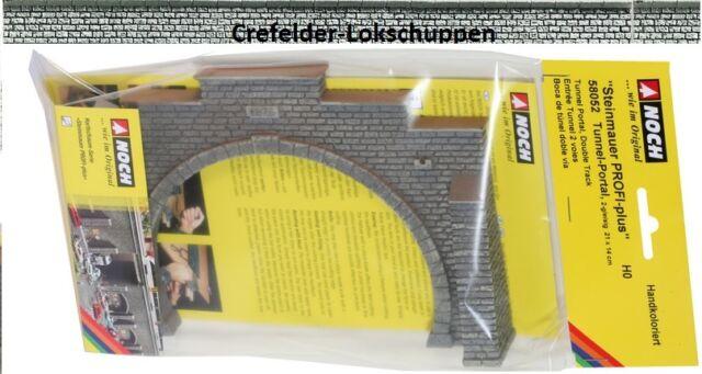 NOCH 58052 Tunnel Portal Brick, ca. 210 x 140mm; NIP