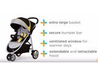 Joie Litetrax 3 wheeled stroller/pushchair
