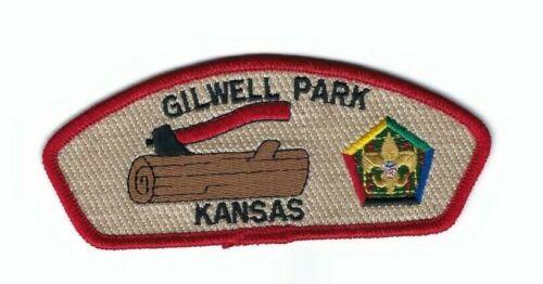 Boy Scout Patch Quivira Council Woodbadge SA-21 CSP Gilwell Park