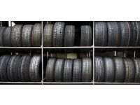 Tyres all sizes new and part worn from £10
