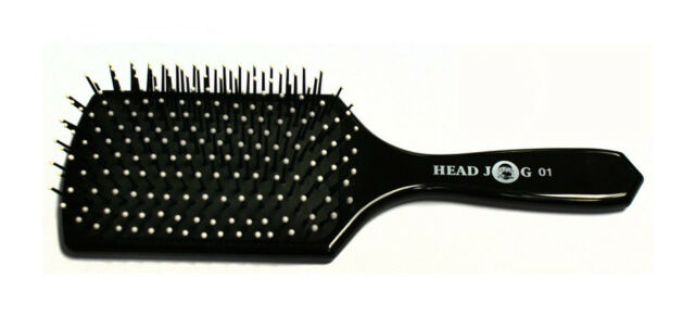 HEAD JOG HAIR GROOMING PADDLE BRUSH 01 NEW