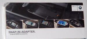 BMW OEM Bluetooth Apple iPhone 5/5S Adapter Cradle E60 E63 E64 E53 E70 F01 F02