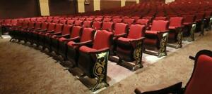Theatre - Auditorium - Cinema - seats - many designs and colors - free quote - discount prices