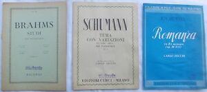 BRAHMS-Studi-per-pianoforte-SCHUMANN-Tema-con-variazioni-e-Romanza-in-RE-min