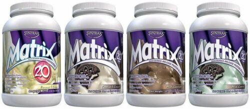 matrix sustained release protein powder 9 flavors