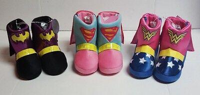 nder Woman Toddler Girls Boot Slip-On Slipper/Shoe:7/8-13/1 (Batgirl Schuhe)