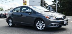 2012 Honda Civic EX-L Navigation, Leather Interior, One Owner !!