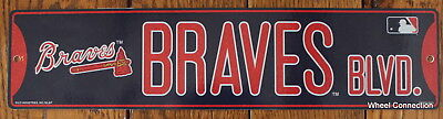 - Street Sign Atlanta Braves Blvd.  MLB Lic Baseball full colorful picture