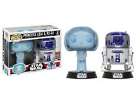 Funko Pop! Star Wars Princess Leia & R2-D2 2017 Summer Convention Exclusive