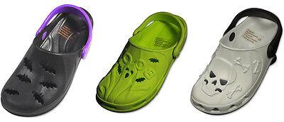 Babies On Halloween (Infant Toddler Unisex Molded Halloween Design Slip On Clog Sandal)