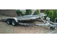 """BRIAN JAMES TWIN AXLE TILT BED TRAILER (14 X 6'3"""" BED ) WITH WINCH"""