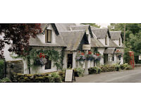 Various positions vacant in beautiful rural hotel. Temporary or permanent.