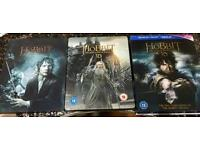 The Hobbit Trilogy on BluRay