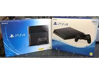 PlayStation 4 500GB Console or PlayStation 4 500GB Slim Console or PS4 Games