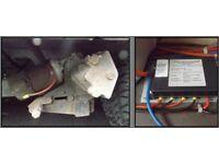 Caravan Motor Mover Single Axle Spares Or Repair. BARGAIN