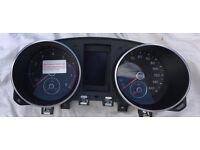 VW Golf MK6 Dash Instrument Cluster Speedo Speedometer For Sale