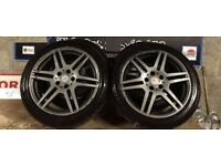Mercedes 18'' Genuine Staggered Amg Alloys May Part Ex Can Sell Individuals can sell pairs CAN POST