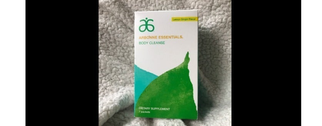 ESSENTIALS BODY CLEANSE Lemon Ginger Sealed  Expire 10/2020