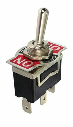 Heavy Duty Toggle Switch SPDT Momentary Center Off Both Sides 20 Amp