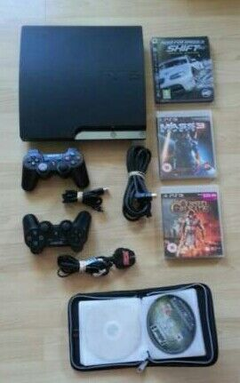 Playstation 3 console 160gb with many games &