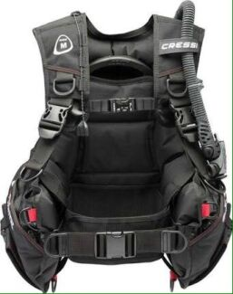 cressi pro start bcd and weights