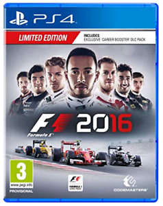 F1 2016 (PS4) - Limited edition