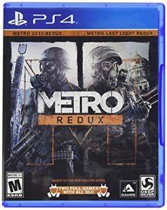 RECHERCHE METRO REDUX (PS4