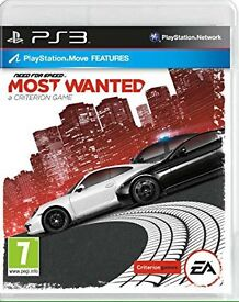Need For Speed : MOST WANTED PS3 Game