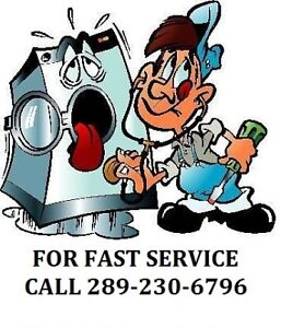 WASHER & DRYER REPAIR - EXPERT FACTORY TRAINED & CERTIFIED $85